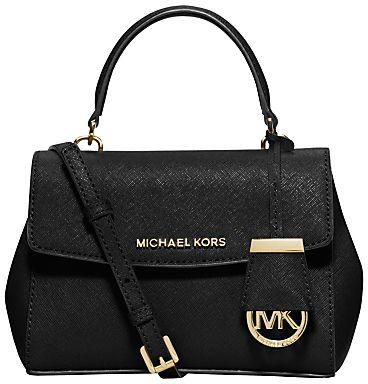 MICHAEL Michael Kors Ava Extra Small Across Body, Black