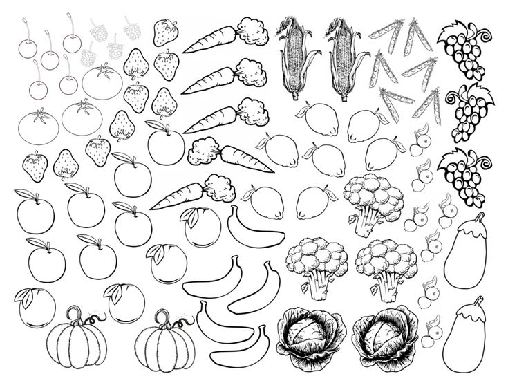 Fruits and Veggies by Color