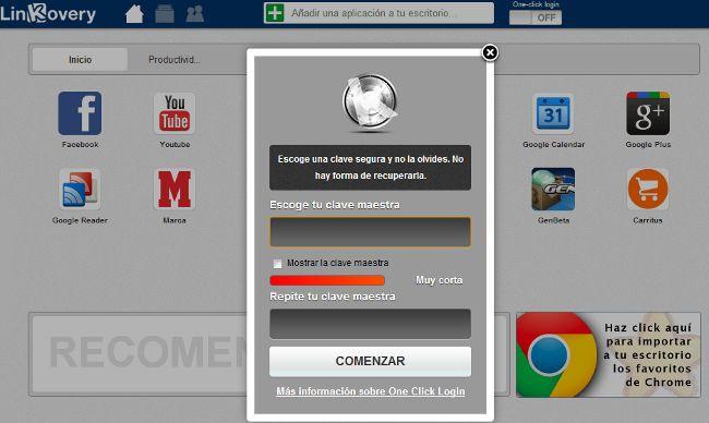 Linkovery mejora con la importación de marcadores y el one-click login  http://www.genbeta.com/p/69265