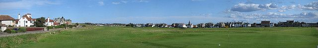 The golf course at Elie is beatifully set between the sea, a hill ridge and two rows of old streets.     GolfLessons  to make your game more enjoyable. Learn more at golfduffer.com