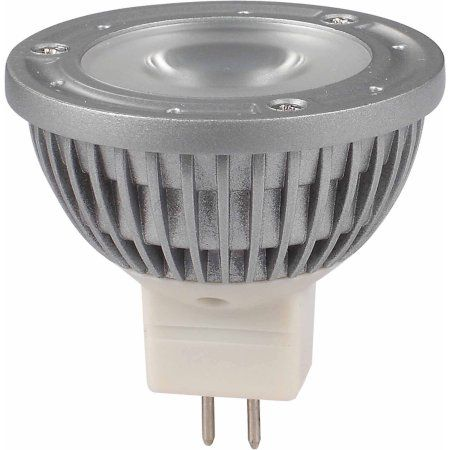 Green LongLife 6060105 MR16 Base 12V LED Bulb, Silver
