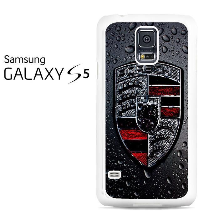 Porsche Logo Emblem Rain Samsung Galaxy S5 Case