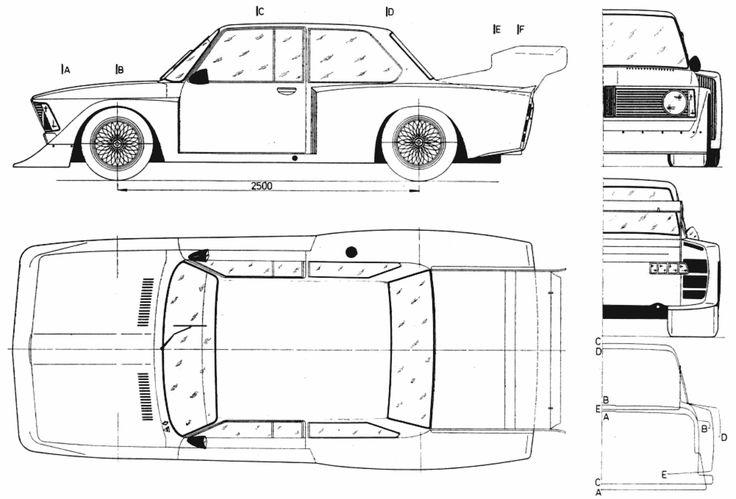 19 Best Car Blueprint Images Cars