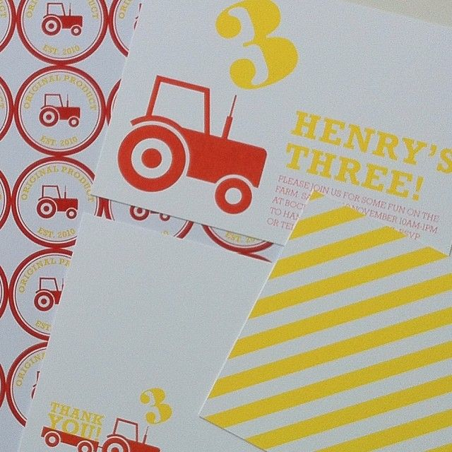 Farm party! Invitation by Bureau Design www.bureaudesign.co.uk  #partyinvitation #childrensparty #bureaudesign
