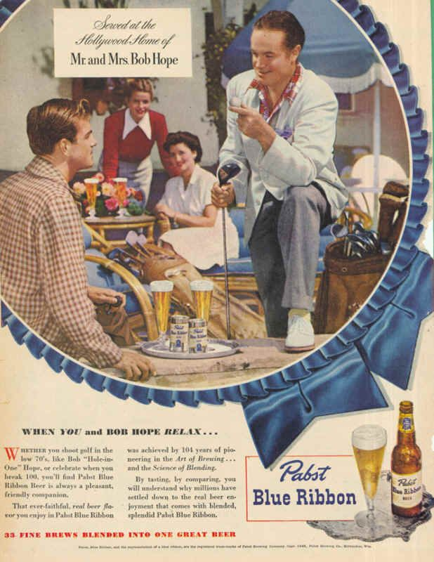 The Evolution of Pabst Blue Ribbon's Beer Advertising