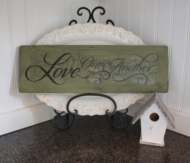 COUNTRY GIRL HOME : DIY Saying Signs for 1$