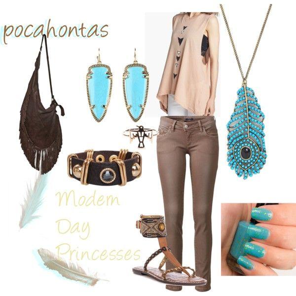 """"""" pocahontas"""" Modern Day Disney Princesses"""
