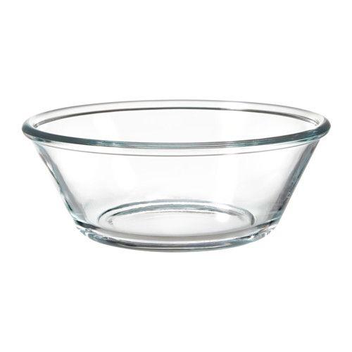 VARDAGEN Serveringsskål, klarglas