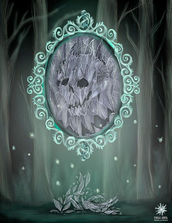 Mirror curse on Behance