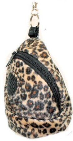 Amazon.com: Rodent or Sugar Glider Kucci Carry Bonding Pouch with Window Cheetah Print: Pet Supplies