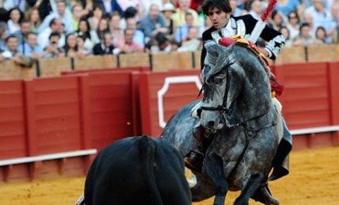 Tengo suerte de haber criado a Pegaso, ya puedo morir tranquilo - Mundotoro.com #rejoneador #Ventura #toros #rejones #Sevilla