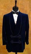 Men's Dinner Party Wear Smoking Designer Royal Blue Velvet New Jackets Coat
