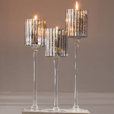 Landelles Set of 3 Candle Holders - £49   brandinteriors.co.uk