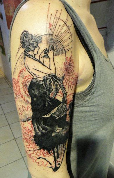 Tattoo Artist - Xoil Tattoo - woman tattoo | www.worldtattoogallery.com