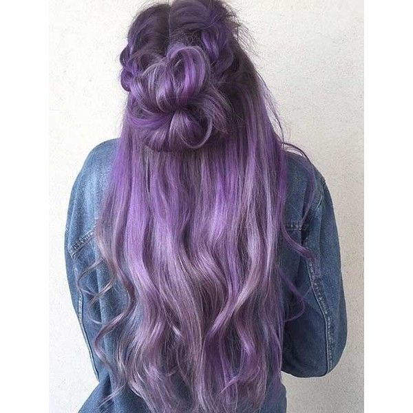 25 Beautiful Lavender Hair Color Ideas Liked On Polyvore