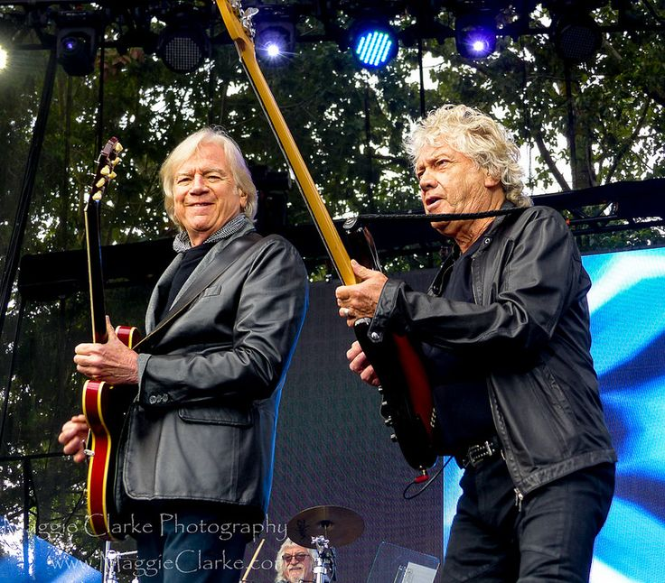 The Moody Blues perform at Edgefield, Troutdale, Oregon June 9, 2017