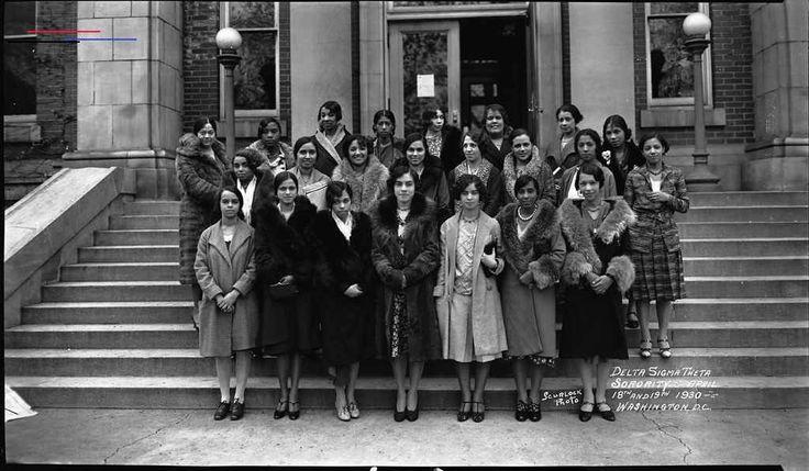 Delta Sigma Theta Sorority ca. 1930s