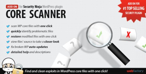 Core Scanner add-on for Security Ninja