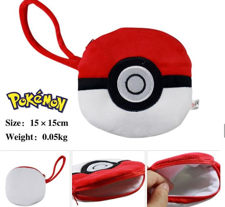 Pokemon Bag Cartoon Movie Pokemon Pocket Monsters Pikachu Poke Plush Purse Coin Wallet Soft Bag, $3.15 | DHgate.com