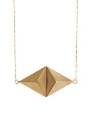 Gogo Philip Gold Plate Statement Short Necklace
