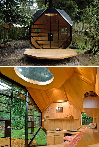 1000 images about garden pods and outdoor rooms on for Outdoor pod room