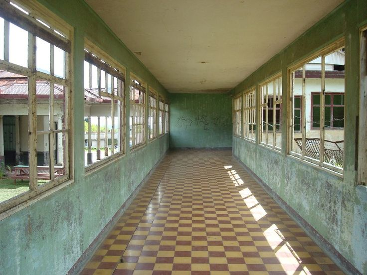 Sanatorio Durán, in Cartago, Costa Rica.  Located in the outskirts of the province of Cartago, this former tuberculosis hospital is the country's most well known haunted place