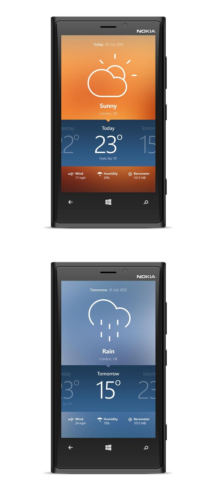 WP8 Weather App