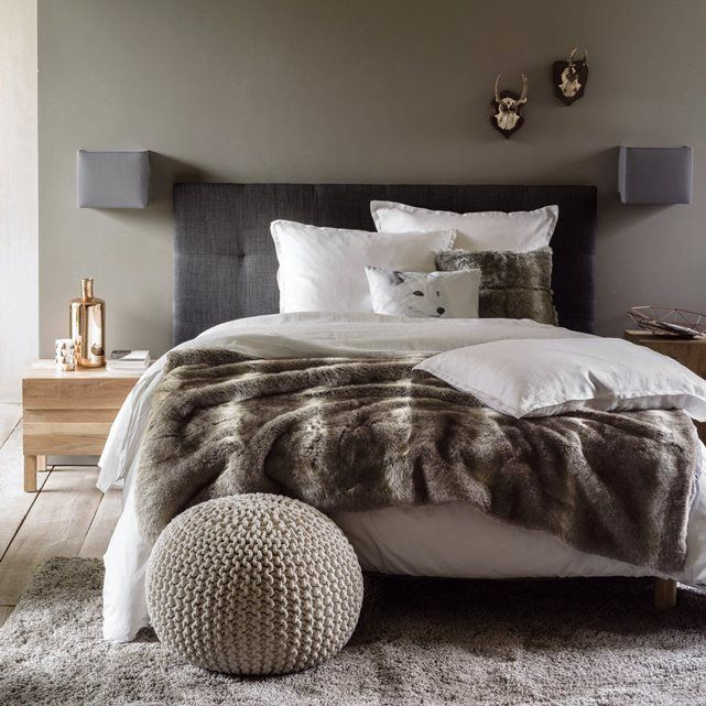 les 25 meilleures id es de la cat gorie plaid fourrure sur pinterest coussin fourrure plaid. Black Bedroom Furniture Sets. Home Design Ideas
