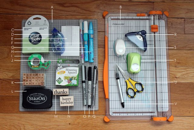 What You Need in Order to Make Cards: Basic Card Making Supplies...amazing!
