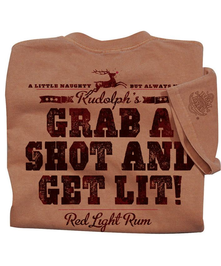 Red Light Rum - Rum-Dyed Crew Neck T-Shirt