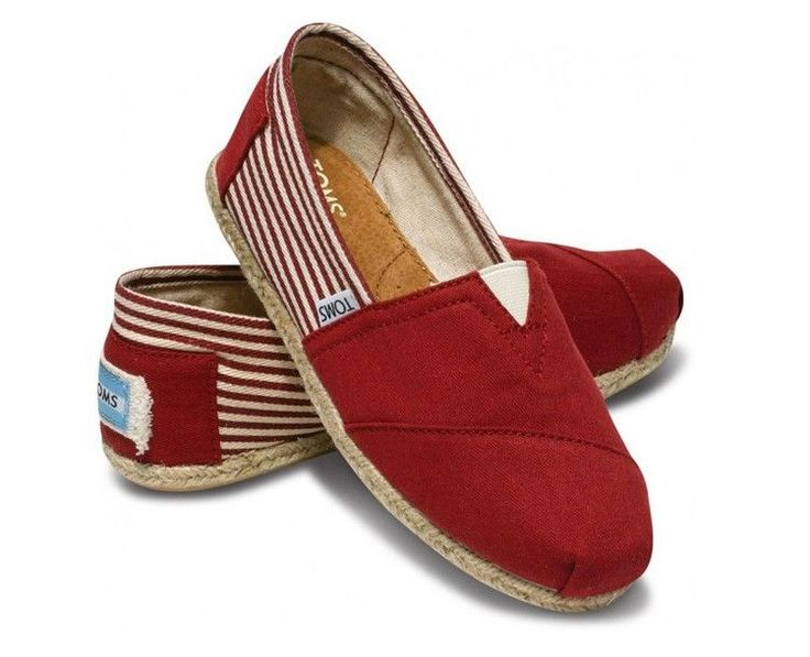 Red Toms Shoes Sale