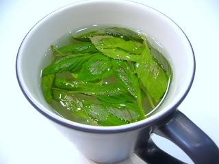 Open Kitchen Concept: Cinnamon Basil Tea
