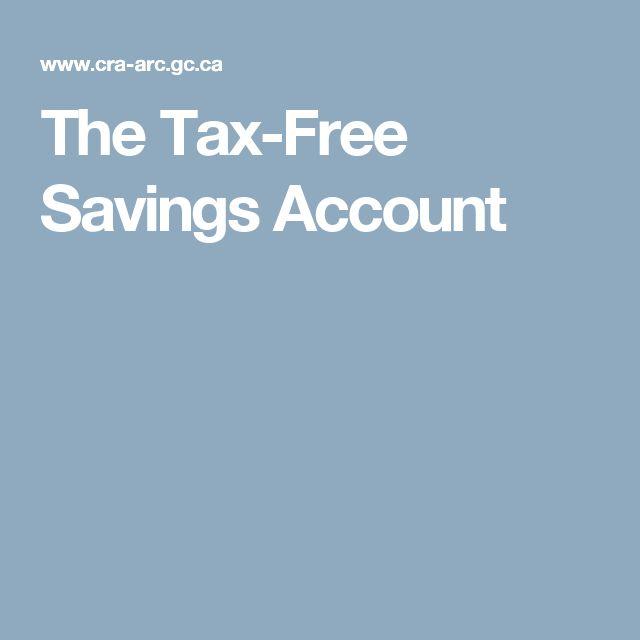 The Tax-Free Savings Account