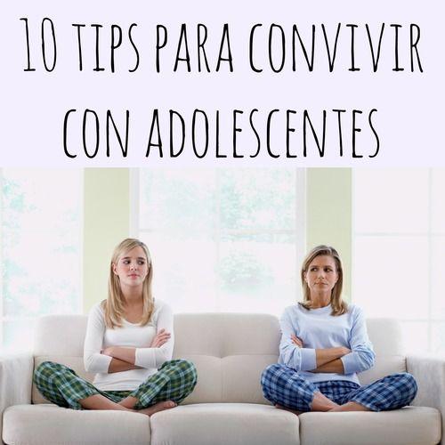 Amparo Bandera - Terapia: 10 tips para convivir con adolescentes …