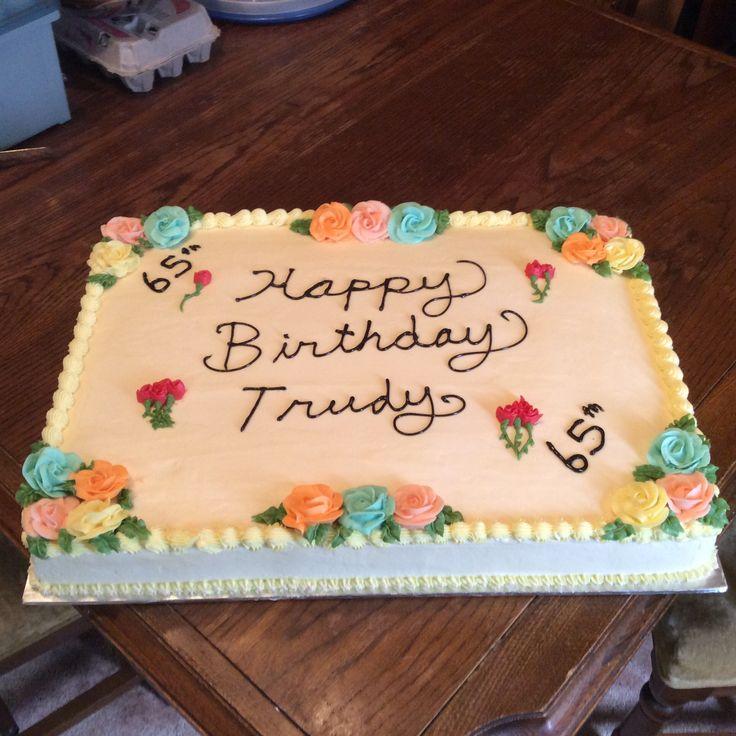 15x22 lemon cake
