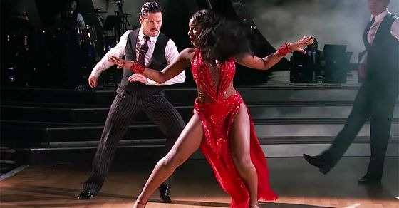 Image result for Images of Normani Kordei from DWTS on 4-10-2017