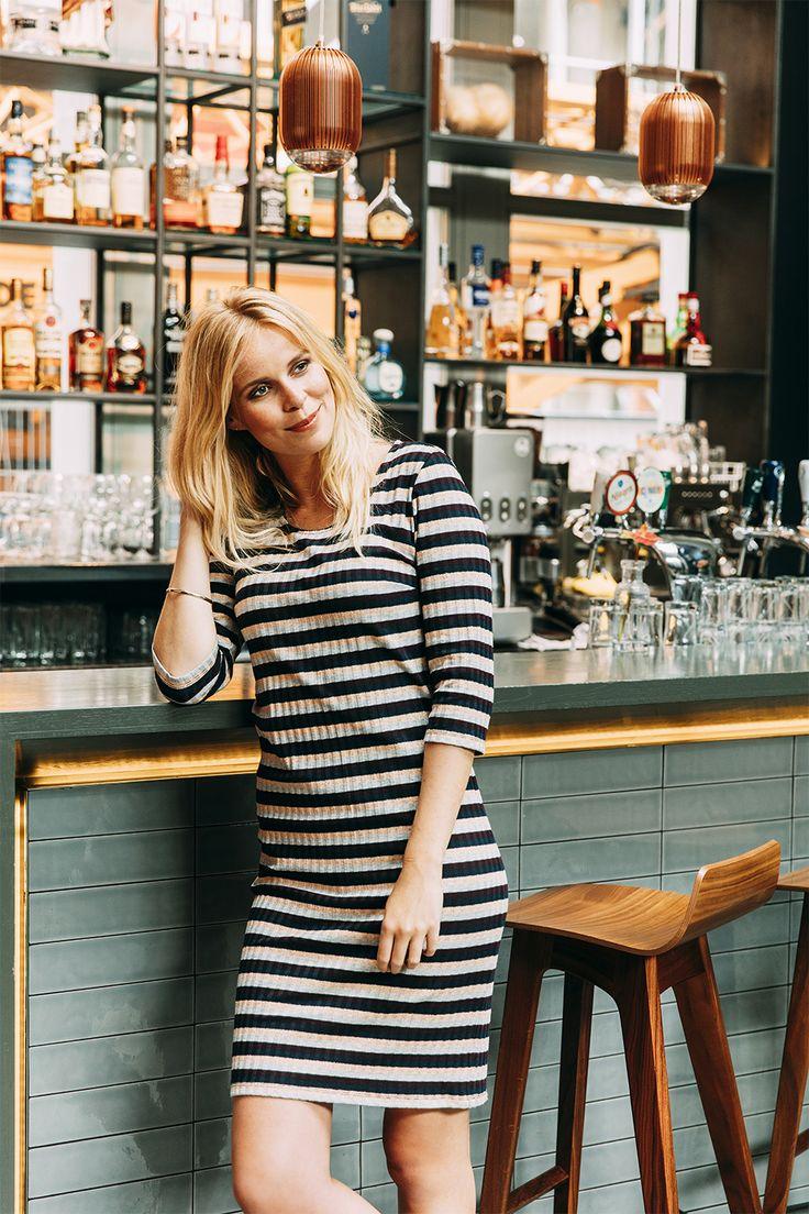 Streep jurk #missetam