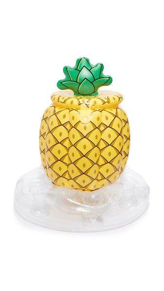 Gift Boutique Надувной матрас в виде ананаса с охлаждающим отсеком