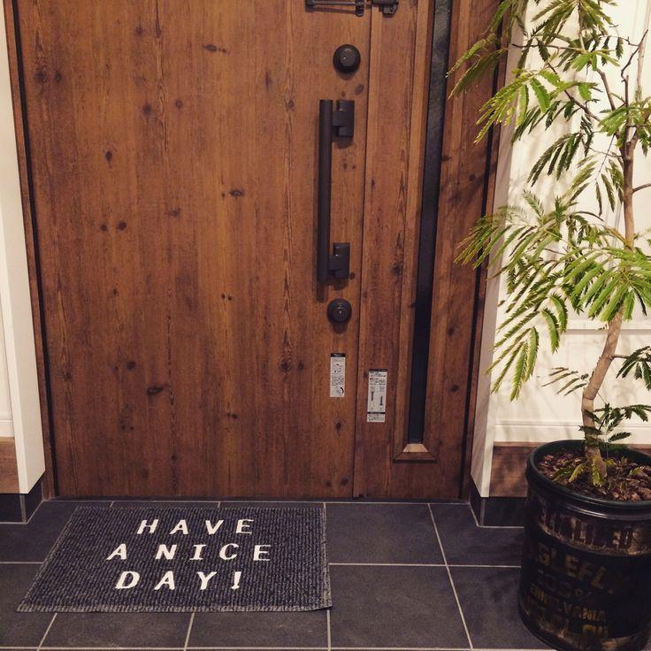nikoand.../玄関マット/エバーフレッシュ/玄関/入り口のインテリア実例 - 2015-04-01 22:47:21 | RoomClip(ルームクリップ)