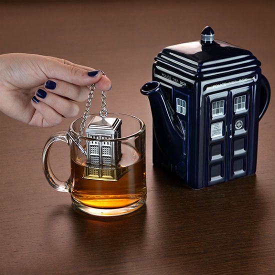 Tardis tea infuser...to go along with the amazing tea pot!
