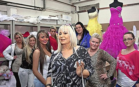 """My Big Fat Gypsy Wedding"" dressmaker Thelma Madine is back in ""Little Shop of Gypsies"" Thursdays on TLC!"