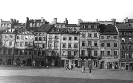 Warsaw Old Town, 1940