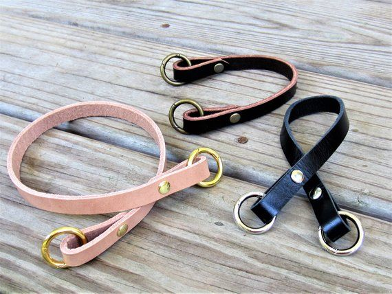 Bag Strap Genuine Leather Replacement Strap O-Ring Shoulder Strap Handles