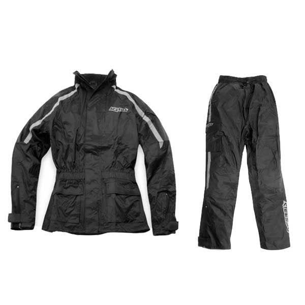 Αδιάβροχο Σετ Σακάκι - Παντελόνι ACERBIS Matrix II Μαύρο