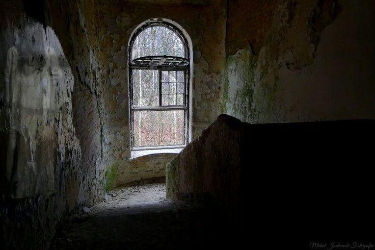 Opuszczony szpital psychiatryczny Zofiówka