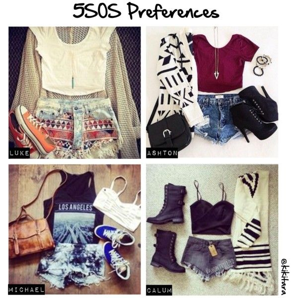 """5SOS Preferences: Arriving in L.A"" by kikitara on Polyvore >>>> Those Ashton shoes are SOOOOO GORGEOUS!!!!"