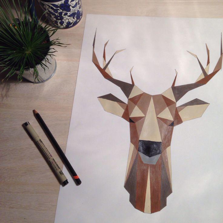 Geometric deer                                                                                                                                                                                 Más