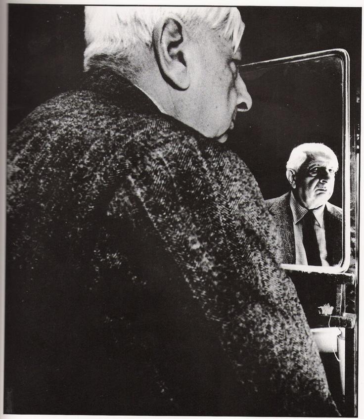 BILL BRANDT :: Giorgio de Chirico, 1965  #portrait