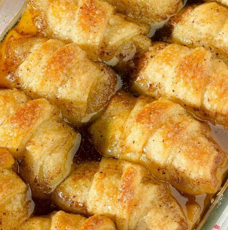 Apple dumplings... goes great with chicken & dumplings!!!