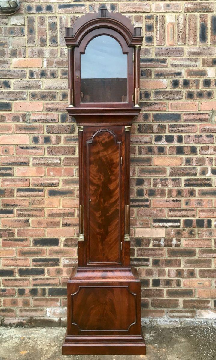 Mahogany London Long Case Clock Restoration Daniel Chapman